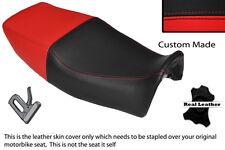 Brillante Rojo Y Negro Custom Fits Yamaha Xj 600 N desvío 92-04 Doble Cubierta De Asiento