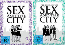 6 DVDs * SEX AND THE CITY : STAFFEL / SEASON 3 + 4 # NEU OVP +