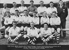PORT VALE FOOTBALL TEAM PHOTO>1955-56 SEASON
