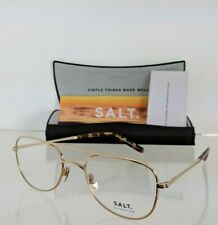 Brand New Authentic SALT Eyeglasses DONLAN HG Titanium Hand Made Frame 53mm