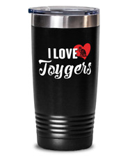 Toygers Cat Gift for Cat Lovers - Toygers Tumbler Present Travel Mug 20oz Stainl