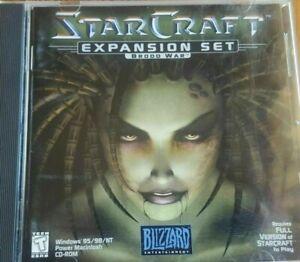 StarCraft Expansion Set Brood War PC Blizzard Entertainment