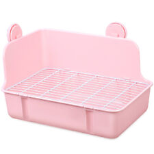 Light Plastic Corner toilet potty and litter for Hamsters Mice Gerbil Pig Rabbit