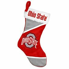 "Ohio State Buckeyes Holiday 17"" Christmas Stocking NCAA! Team Logo New for 2014"