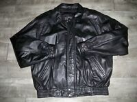 Wilson's Bomber Leather Thinsulate Insulated Motorcycle Biker Men's Jacket XLT