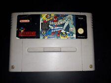 Jeux Snes Super Nintendo Spiderman Xmen arcades revenge version eur vintage rare