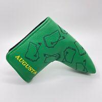 Saucy Golf Augusta Georgia Magnetic Blade Golf Putter Headcover Green