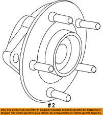 Jeep CHRYSLER OEM 17-18 Compass Rear Suspension-Hub 68264532AB