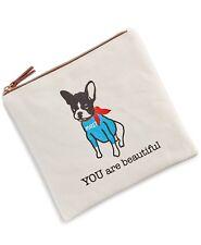 MACY'S YOU are beautiful Cosmetic Bag Cute Doggie NIP