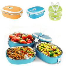 Lunch Box Insulated Warmer Snack Thermal Storage Food Containers Bento Kitchen