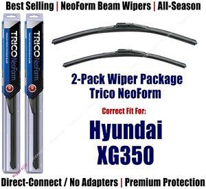 2pk Premium NeoForm Wipers fit 2002-2005 Hyundai XG350 - 16220/200