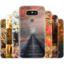 Dessana Autumn Colors TPU Silicone Protective Cover Phone Case Cover For LG