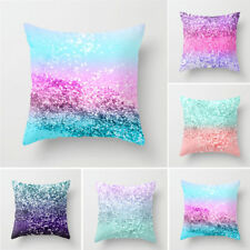 Multicolor Pillow Sequin Cover Glitter Sofa Waist Throw Cushion Case Hot Selling