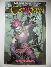1x comic-Catwoman-en el subsuelo-el nuevo DC-universo
