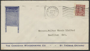 1936 Canadian Woodenware Washboards Illustrated Advertising Cover, St Thomas Ont