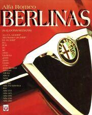 Alfa Romeo Berlinas 6C 8C 1900 Giulia 75 90 1750 155 156 166 out-of-print book