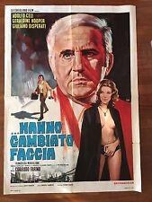 manifesto,2F,..Hanno cambiato faccia Corrado Farina.ADOLFO CELI,DRACULA SEX 1971