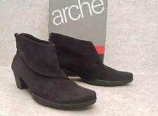 Arche Garok ankle boot black nubuck leather size 40 us 9.5 M