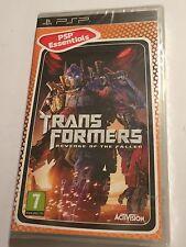 Nuovo di Zecca Sony PSP PlayStation Portatile Gioco Transformers la vendetta del caduto