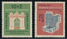 BUND 1953, MiNr. 171-172, 171-72, tadellos postfrisch, Mi. 50,-