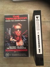 VHS  RARE FIND ( THE TERMINATOR ) 1984 Action Cult Classic