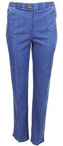 jeans for women elastic waist jean straight leg ladies denim plus size jeans O12