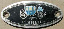 GM FISHER BODY EMBLEM Buick Cadillac Chevrolet Oldsmobile Pontiac #H149