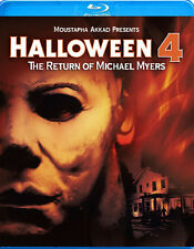 Halloween 4: The Return of Michael Myers (2012, REGION A Blu-ray New) BLU-RAY/WS