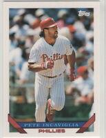 1993 Topps Baseball Philadelphia Phillies Team Set