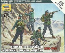 Zvezda 1/72 WWII German Gebirgsjager (1939-1943)