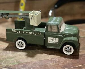 Vintage 1960's Ertl Utility Service Truck Green