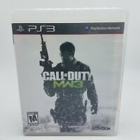 Call of Duty: Modern Warfare 3 (Sony PlayStation 3, 2011) PS3 Complete & Tested