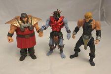 Masters of the Universe 200x - Skeletor, Ram Man & He-Man - 2002