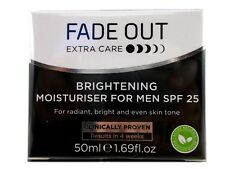 Fade Out SPF25 Extra Care Men's Face Brightening Cream, 50 ml