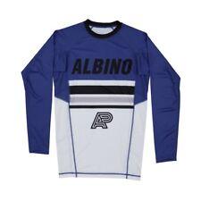Albino & Preto A&P 18 Comp Rashguard - Shoyoroll - Blue Large