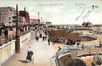 BR80019 brighton sea front and west pier   uk