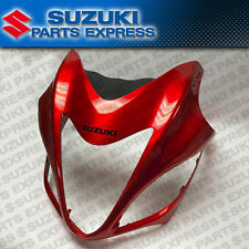 NEW 2008 SUZUKI HAYABUSA GSX1300R OEM ORANGE UPPER NOSE FAIRING 94401-15H00-YME
