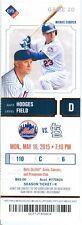 2015 Mets vs Cardinals Ticket: John Mayberry Jr. has winning hit in 14th