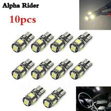 10pc T10 5SMD LED NUMBER PLATE WHITE BULBS HONDA CIVIC MK8 FN2 TYPE R FREE ERROR