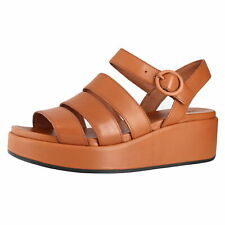 Camper Misia Medium Brown Womens Wedge Sandals Size 3.5M