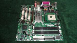 intel D865GLC socket 478 Pentium 4 class motherboard SATA/IDE no I/O plate