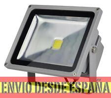 Foco Proyector LED  50W 3000K Luz Calida, PF 0,95, Potencia 100% Real