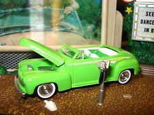 1946 FORD CONVERTIBLE ROD LIMITED EDITION 1/64 1950'S CUSTOM WHEELS ADDED