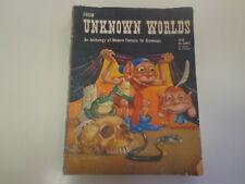 From Unknown Worlds 1948 Fantasy Pulp Magazine Edd Cartier Robert Bloch