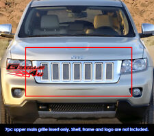 Fits Jeep Grand Cherokee Stainless Steel Mesh Grill Insert-Fits 2011-2013