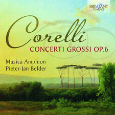 Musica Amphion, A. Corelli - Concerti Grossi Op 6 [New CD]