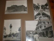Photo Harbour Clock and Pettah area Colombo Ceylon 1944