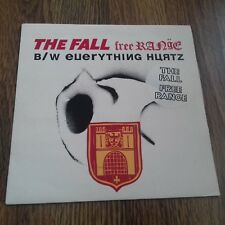 "THE FALL - FREE RANGE 7"" SIGNED BY MARK E SMITH !! 1992 COG SINISTER EX"
