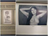 Ideale Nacktheit Naturaufnahmen Menschlicher Körperschönheit 1923 3.Bd. js