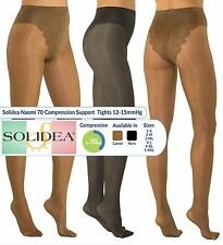 Patternless Synthetic Hosiery & Socks for Women with Support
